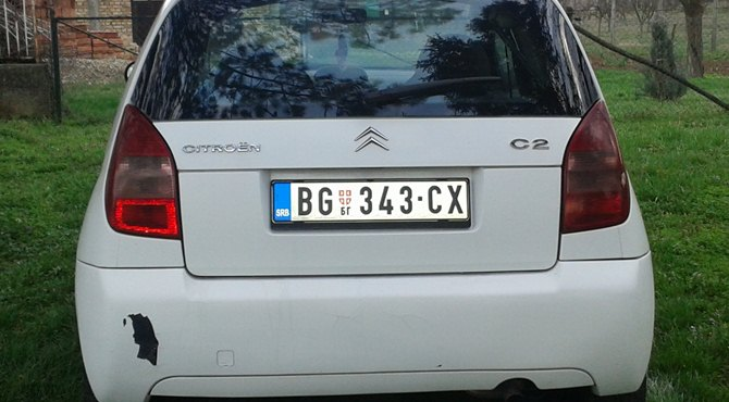 Citroen c2 otkupljen automobil