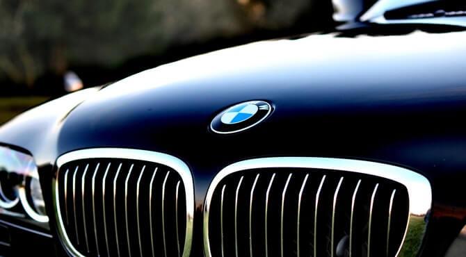 Prednji deo automobila BMW